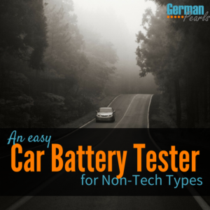 An Easy Car Battery Tester for Non-Tech Types