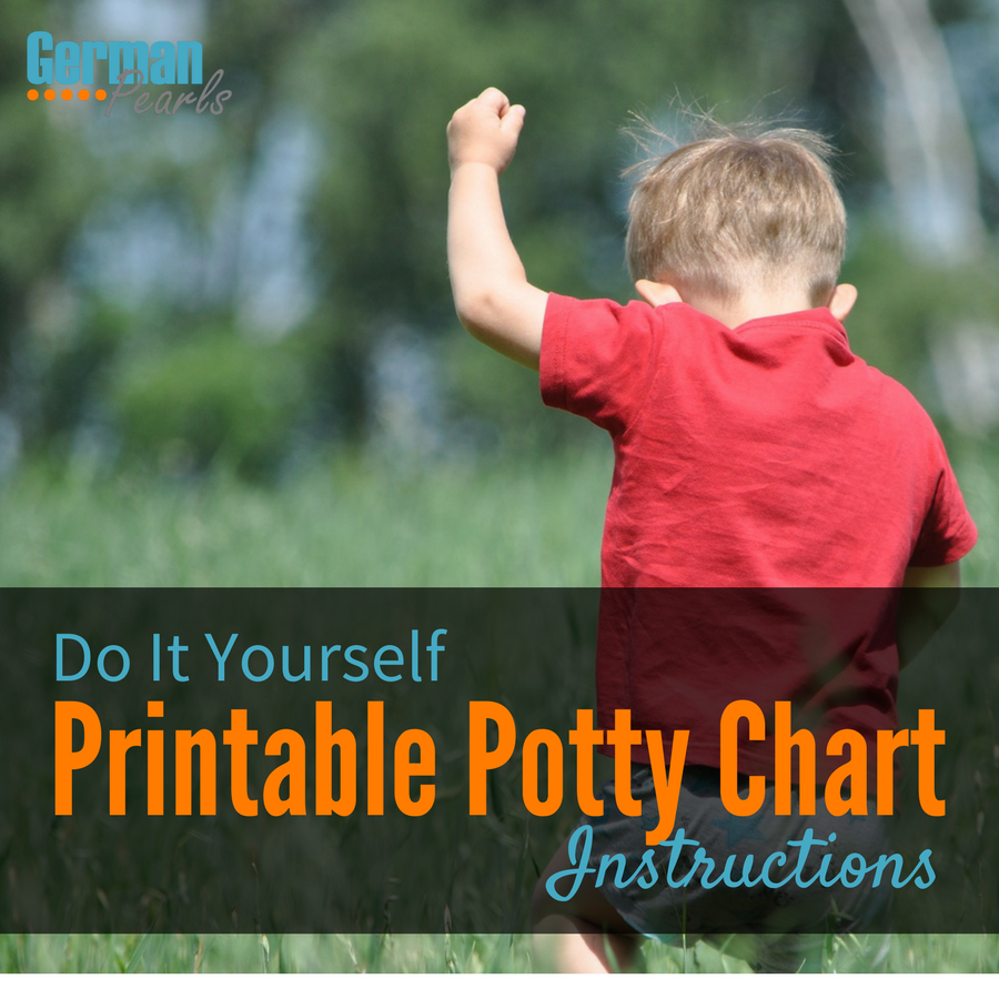 how to make a diy printable potty chart for your toddler