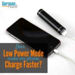 Does Low Power Mode Make Your Phone Charge Faster?