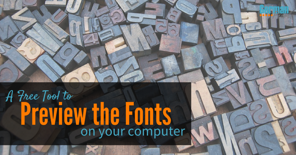 A Free Online Font Viewer Lets You Preview all the Fonts Installed on Your Computer