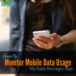 My Data Manager App | Mobile Data Usage Monitor for iPhone and Android | How to Avoid Large Cell Phone Bill from AT&T or Verizon