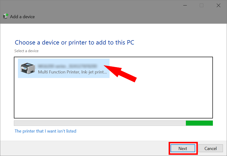 How to share a printer on the network in Windows 10