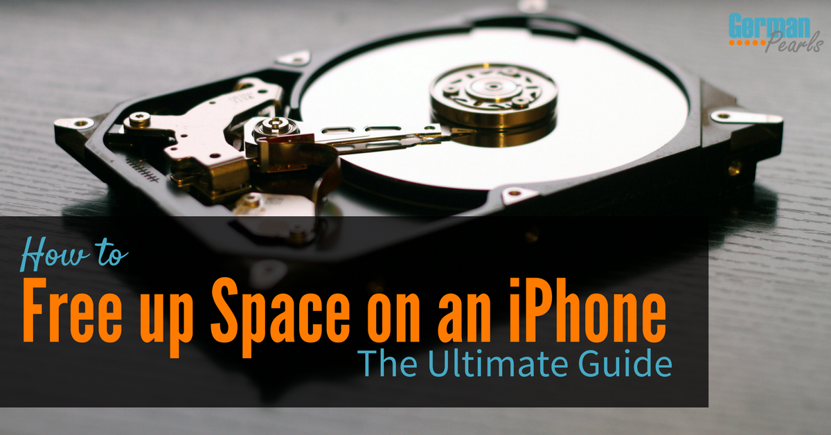how to free up space on iphone 5 how to free up space on an iphone the ultimate guide 8042