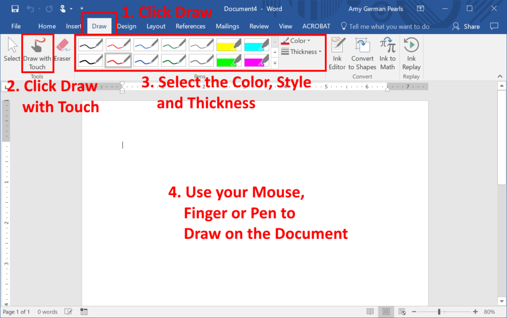 How to Write Comments on a Word Document