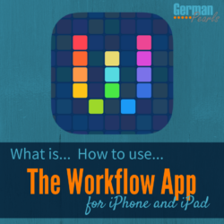What is the Workflow App and how to use it. iPhone and iPad automation
