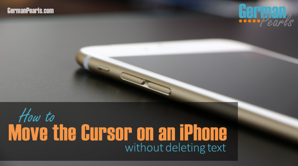 The iphone hack that shows you how to move the cursor on an iphone without deleting text
