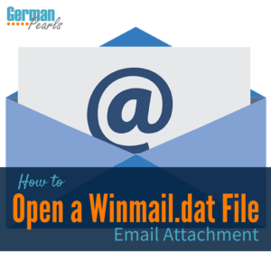 How Do I Open a Winmail DAT File?