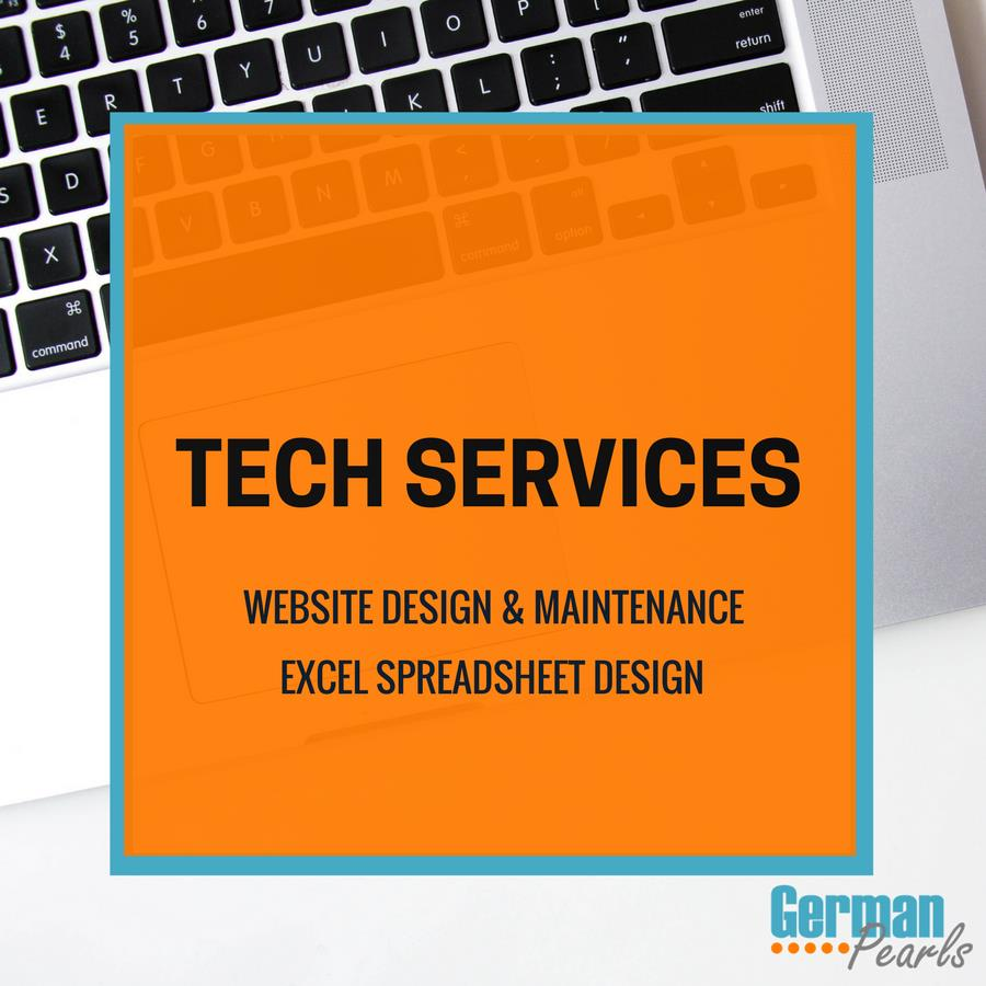 German Pearls Tech Services | Website Design | Website Maintenance | Excel Spreadsheet Development | Tech Support Services near Saratoga Springs, NY